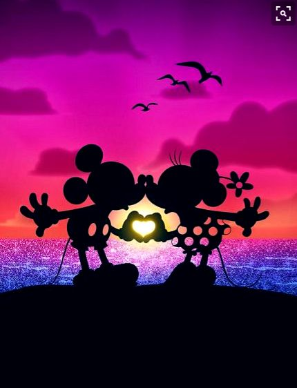 Mickey And Minnie Mouse Love
