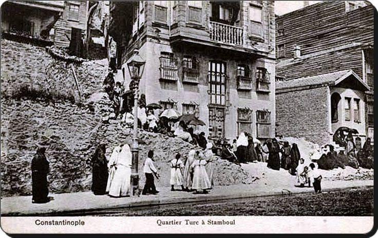 ✿ ❤ Bir zamanlar İSTANBUL, Kabataş - 1910'lar