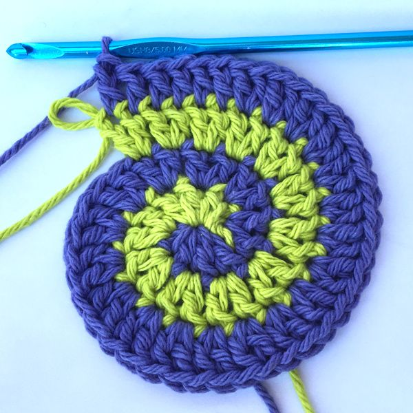 Learn how to crochet a spiral with Love of Crochet editor Dana Bincer! Plus, check out the adorable crochet trick or treat bags you can make using this technique!