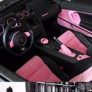 25 best pink car interior ideas on pinterest for How to decorate your car interior