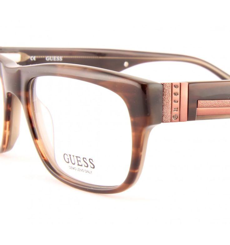Značkové brýle Guess GU 1724 BRN #bryle #guess #eyeglasses #damske #moda #moderni #trendy #praha #optika #eurooptik