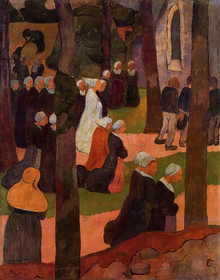 The Athenaeum - A Breton Sunday (Paul Serusier - )