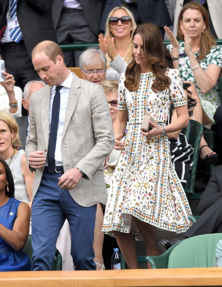 We were impressed to see Kate Middleton try out a skull print from McQueen's collection. Then again, the du...