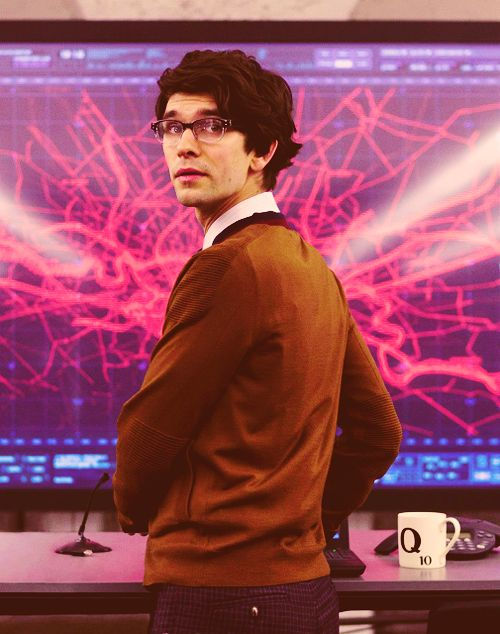 Ben Whishaw in Skyfall