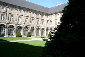 L'Abbaye des Prémontrés à Pont à Mousson (Meurthe et Moselle) juillet 2015