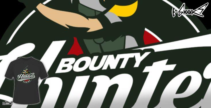 Magliette+Bounty+Hunters+Baseball+-+Disegnato+da+:+Boggs+Nicolas
