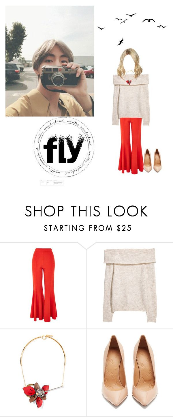 """""""Our picture wonderland"""" by xxkatelynn-lacolexx ❤ liked on Polyvore featuring Topshop, Marni and Maison Margiela"""