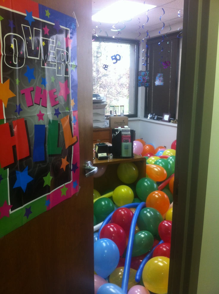 Ideas For Birthday Gifts: Decorating For Boss's 50th Birthday