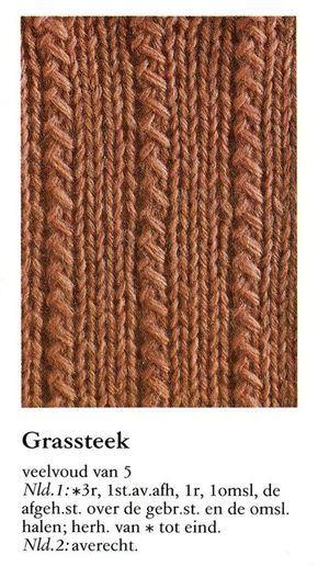 Grassteek 001 - Breisteken