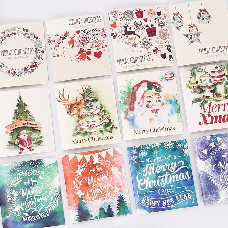 Cheap gift card, Buy Quality gift card christmas directly from China gift gifts Suppliers: 12pcs/pack Merry Christmas Greeting Card Postcard Birthday Letter Envelope Gift Card Christmas Gifts With Envelopes
