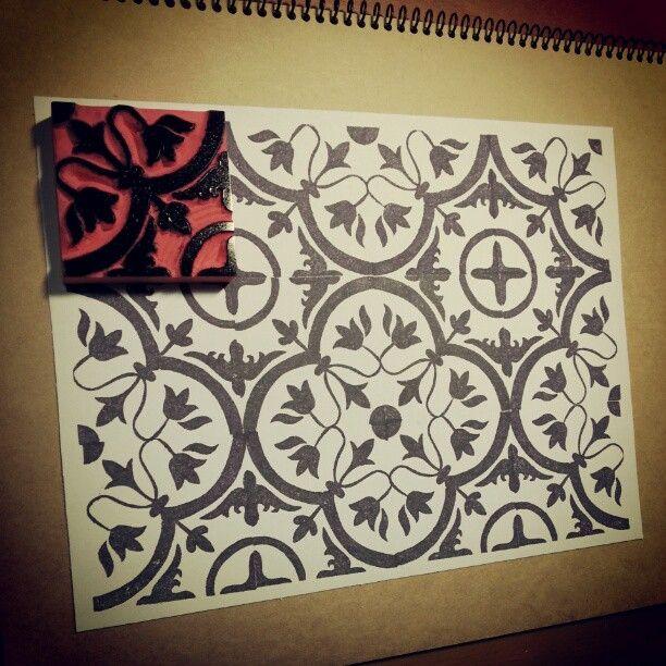 Eraser stamp | pattern.