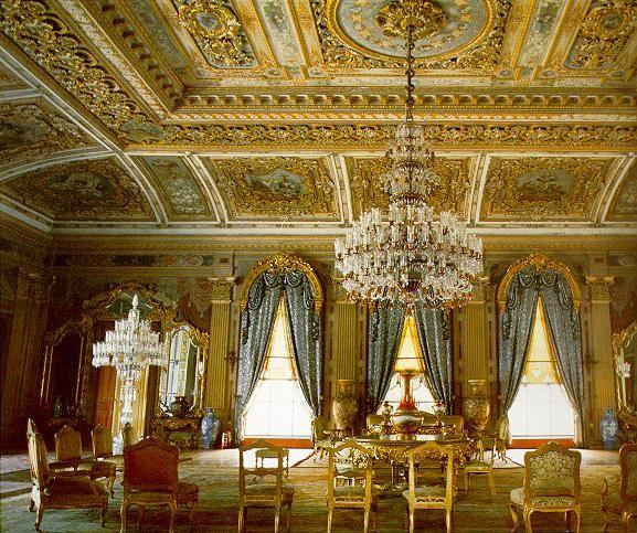 Interior - Dolmabache Palace Turkey