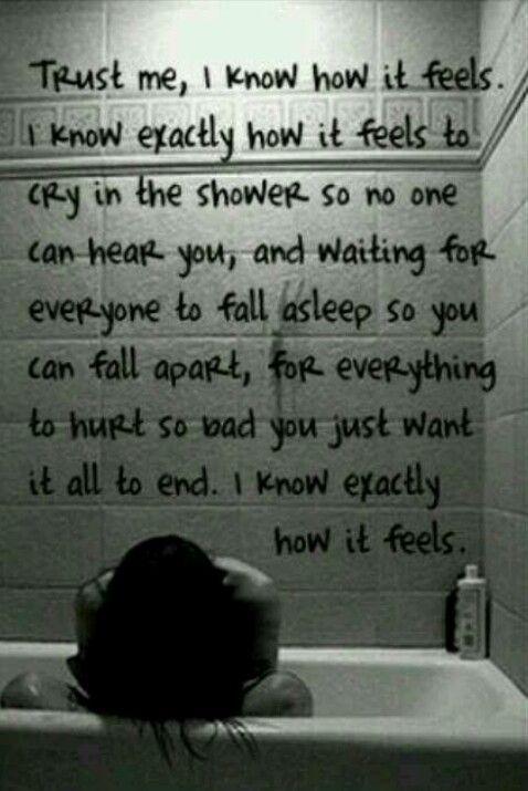 I feel empty xxx