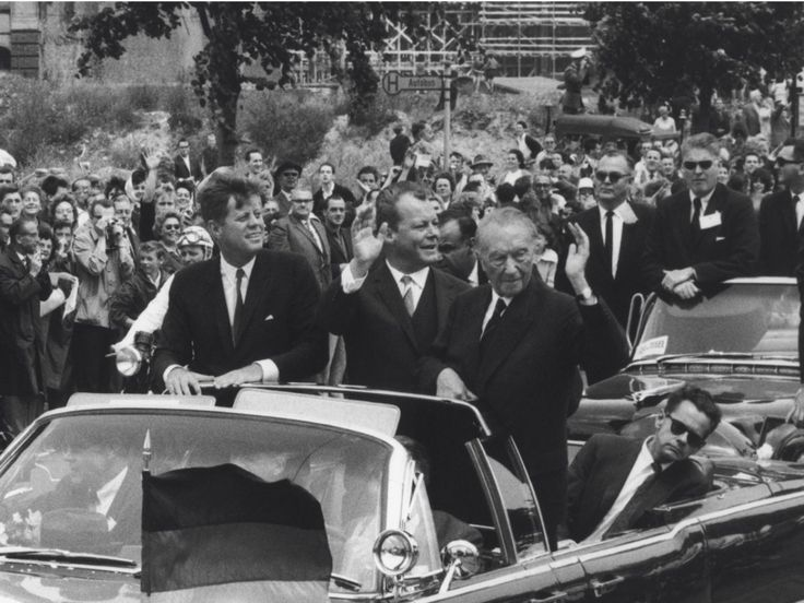 Ulrich Mack: Kennedy in Berlin. | Freundeskreis Willy-Brandt-Haus-e.V.