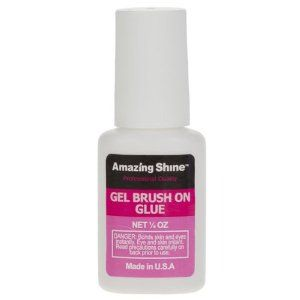 Amazing Shine Professional Brush On Nail Glue (7g) by Amazing Shine. $4.64. Professional quality brush on nail glue by Amazing Shine.