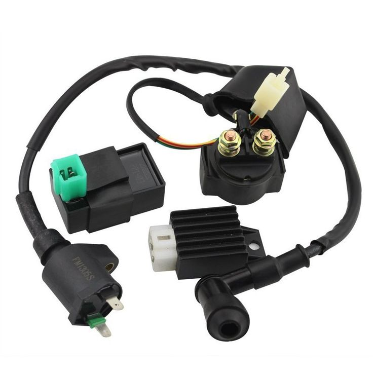 GOOFIT Ignition Coil CDI Regulator Rectifier Relay Kit for 150 200 250 Cc Chinese ATV Group-90
