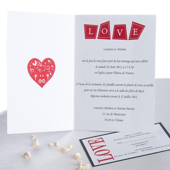 les 176 meilleures images concernant invitations faire part mariage texte sur pinterest. Black Bedroom Furniture Sets. Home Design Ideas