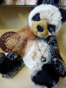 Manfred   Panda Charlie Bears Are Cute As And He Sits Right Next To My Couch  · Plush ...