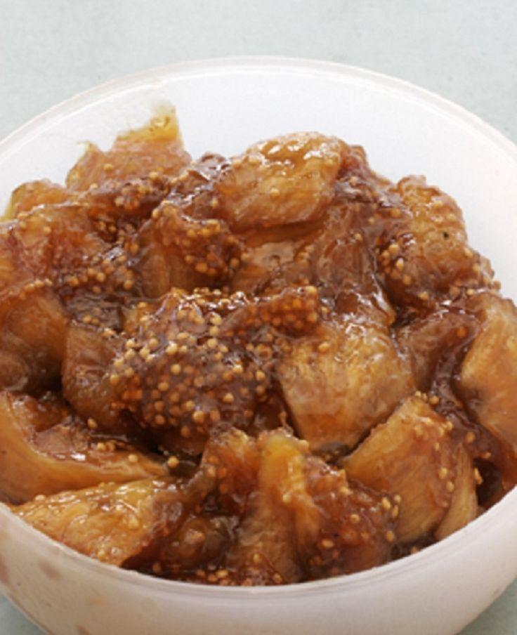 Γλυκό από ξερά σύκα και Vinsanto Σαντορίνης - gourmed.gr