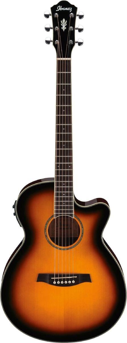 IBANEZ Aeg10ii vs vintage sunburst - Guitares électro acoustiques - Folk électro | Woodbrass.com