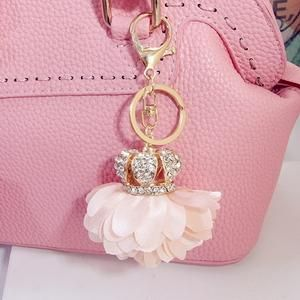 Flower Bag Charm