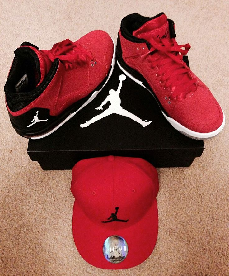 Jordan Flight Shoe and Jordan Air Hat!