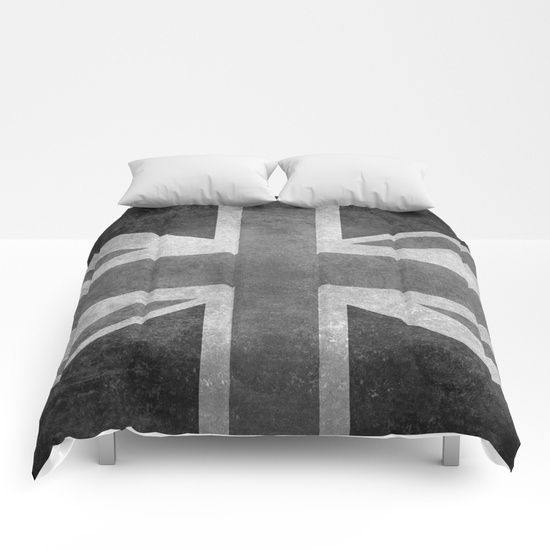 "United Kingdom's Union Jack with in grayscale (black and white) Authentic 1:2 scale for print/tee<br/> <br/> The United Kingdom of Great Britain and Northern Ireland, commonly known as the United Kingdom (UK) or Britain, is a sovereign state in the European Union. Lying off the north-western coast of the European mainland, it includes the island of ""Great Britain"" (a term also applied loosely to refer to the whole country), the north-eastern part of th..."