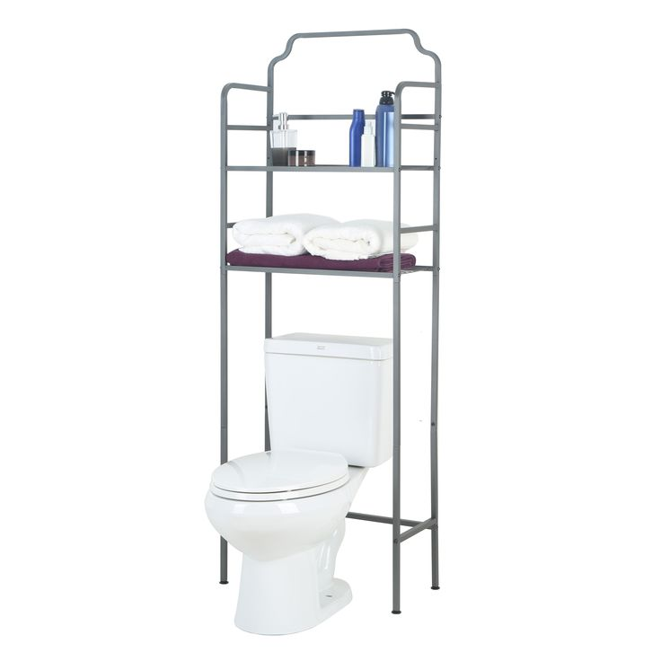 Make use of every inch of space in your bathroom and keep it organized with our Over the Toilet Space Saver. Shop now ---> https://www.tidyliving.com/over-the-toilet-space-saver.html?utm_content=buffere786b&utm_medium=social&utm_source=pinterest.com&utm_campaign=buffer #TidyLiving #OverTheToilet #SpaceSaver #Bathroom #Organize #BathroomRack #BathroomStorage #StorageSolutions #BathroomShelf #CondoLiving #TinyHomes