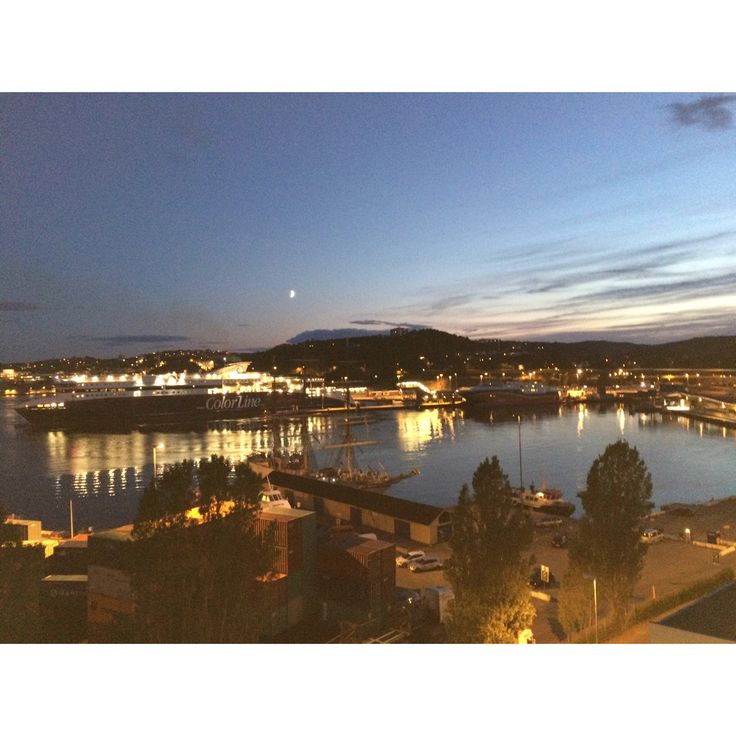 Kristiansand Harbour, south of Norway ☀️