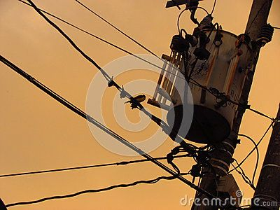 Cityscape, urban vision, urban sunset, energy transformer, abstract vision, urban skies, lines and cabling, slums.