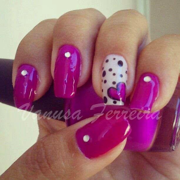 Mejores 102 imágenes de Uñas en Pinterest | Decoración de uñas ...