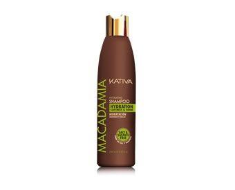 KATIVA - PRODUCTOS - KATIVA MACADAMIA Champú macadamia libre de sal y sulfato para cabellos secos o maltratados. Evita la resequedad del cabello. http://www.lapeluencasa.com/hikashop-menu-for-categories-listing/3282-champu-macadamia-250ml