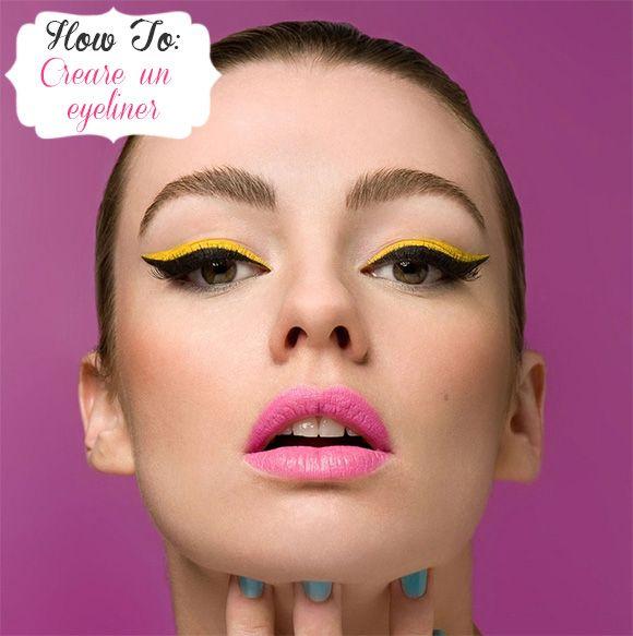 Beauty tips: come creare un eyeliner colorato