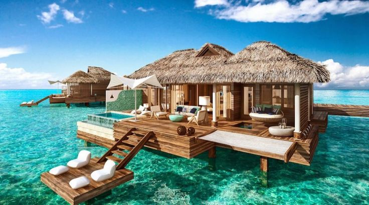 Sandals Royal Caribbean in Jamaica just announced that they are introducing overwater suites. So if Bora Bora is beyond your budget, you'll be thrilled to hear that Sandals Resort is bringing the dream within reach. #HomeofAllRight