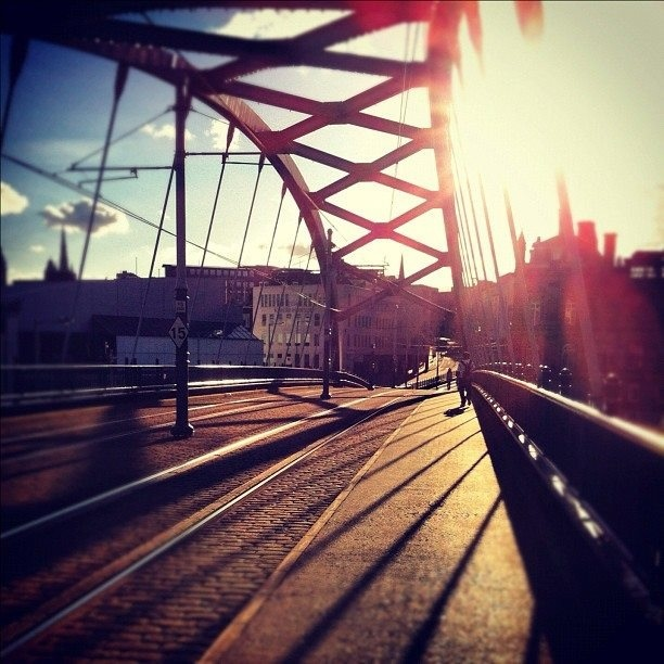 Ponds Forge Bridge (photo by @wellsy2689 on IG) #socialsheffield #sheffield