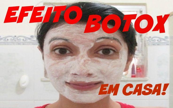 Efeito Botox com Receita Caseira Barata -VEDA#25