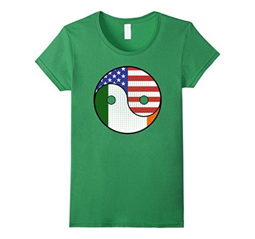 Unique St. Patrick's Day 2017 T-Shirt Gifts Ideas Yin Yang Irish American