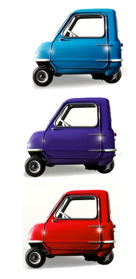 The Worlds Smallest Cars POP 50