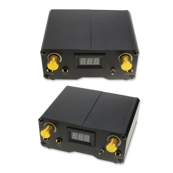 Pro Digital Power Supply - £79.99 #powercordpedal #tattoosupplies #magnumtattoosupplies