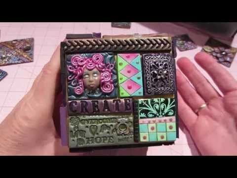 Polymer Clay Tile ATB - YouTube