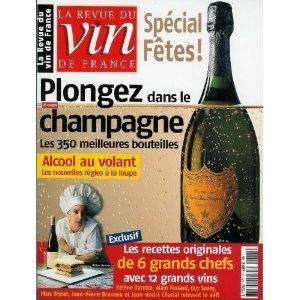 La Revue du vin de France - n°477 - 12/2003 & 01/2004 - Plongez dans le champagne : les 350 meilleures bouteilles [magazine mis en vente par Presse-Mémoire]