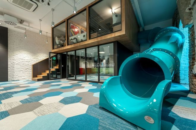 Check out the slide we installed in the office of the Swedish online gaming company, Betsson. Good luck to them with the Office of the Year contest!