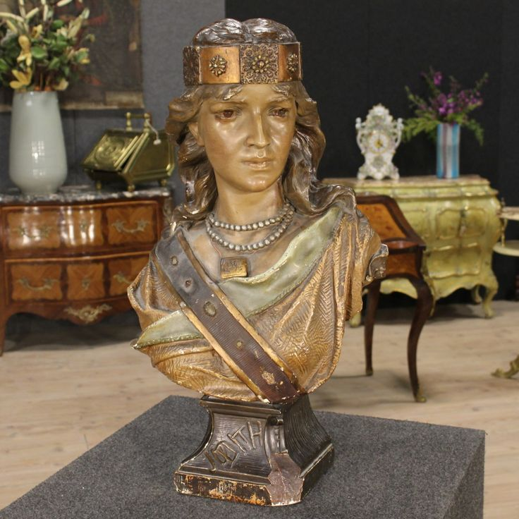 French sculpture female bust of the twentieth century. Visit our website www.parino.it