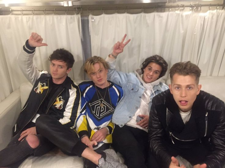 Watch the Vamps new song All Night on youtube!!