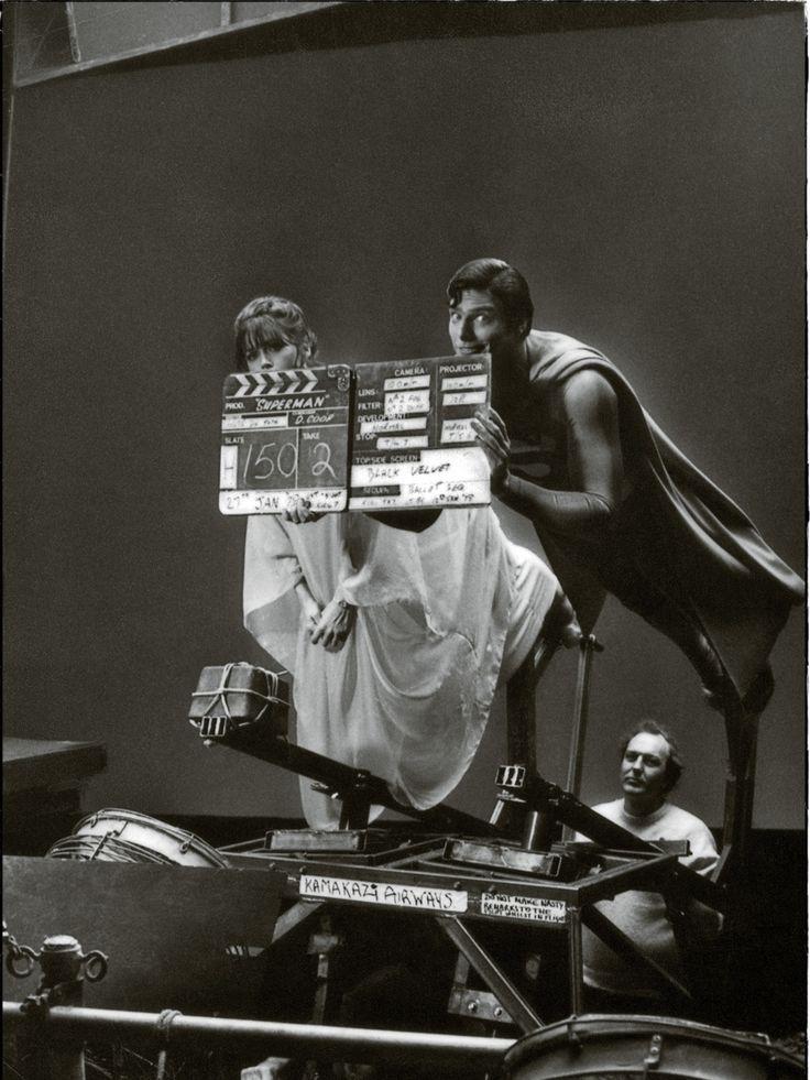 Photos sur des tournages de films #2 photo tournage coulisse cinema Superman 19 photo featured cinema 2 bonus