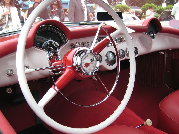 1953 Chevrolet Corvette dash