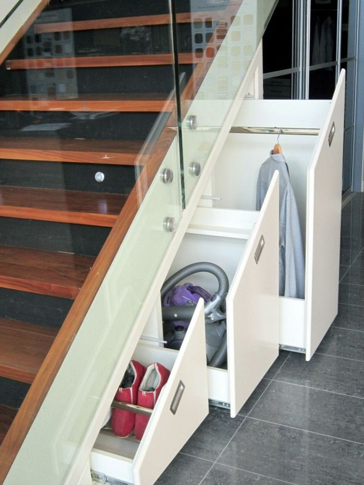 Best 25 sous sol ideas on pinterest - Rangement sous escalier coulissant ...