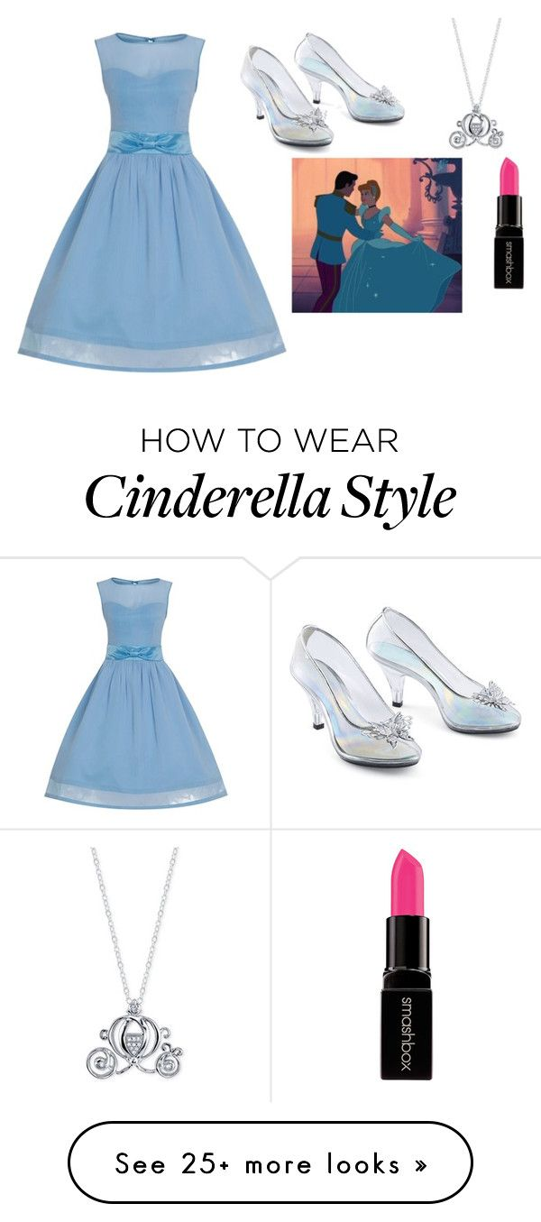 """Cinderella"" by khanke on Polyvore featuring Disney and Smashbox"