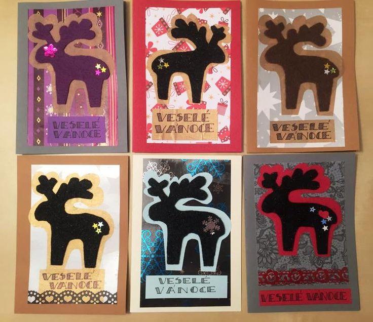 Vánoční postcards
