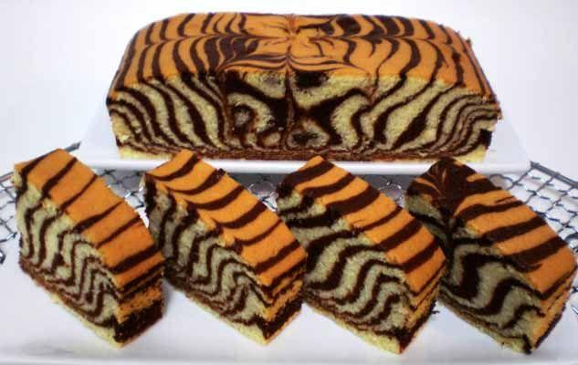 Resep Membuat Bolu Kukus Zebra Lembut